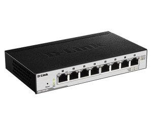 D-Link 8-Port Gigabit PoE Smart Managed Switch DGS-1100-08P