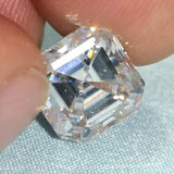 5.80CTW DEW ASSHER Moissanite G color - SOPHYGEMS