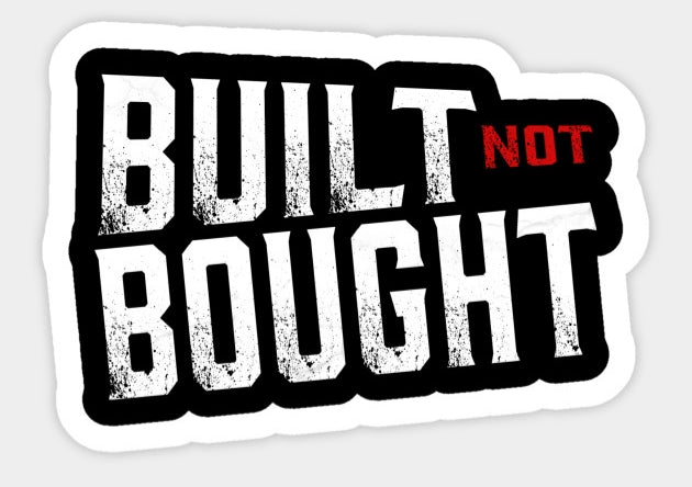 Built not bought - Tarrastore