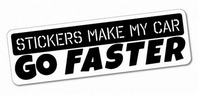 Stickers make my car go faster - Tarrastore