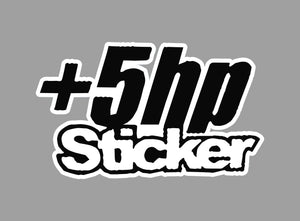 +5hp sticker - Tarrastore