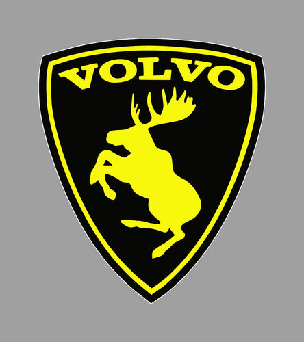 Black And Yellow Volvo Moose Tarra