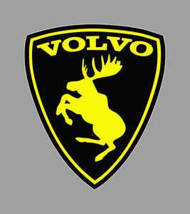 Black and yellow volvo moose - Tarrastore