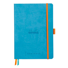 Load image into Gallery viewer, Rhodia Goalbook A5 Dotted Turquoise