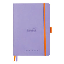 Load image into Gallery viewer, Rhodia Goalbook A5 Dotted Iris