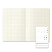 Load image into Gallery viewer, Midori MD Notebook Light 3-pack A5