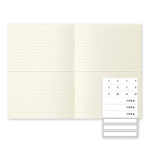 Midori MD Notebook Light 3-pack A5
