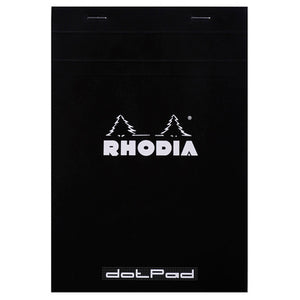 Rhodia Pad No16 A5 Dotted Black