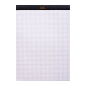 Rhodia Pad No18 A4 Grid Black