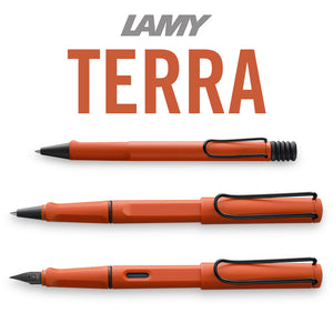 Lamy Safari Terra Red RB Special Edition