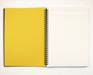 Mnemosyne B5 Notebook, 5 mm dotted, (168 mm x 252 mm / 7.05 inch x 9.92 inch) [N104]