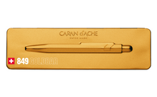 Load image into Gallery viewer, Caran D'Ache 849 Gold Bar BP