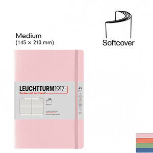 LEUCHTTURM1917 A5 Softcover Notebooks Muted Colours