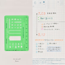 Load image into Gallery viewer, Hobonichi Stencil Basic
