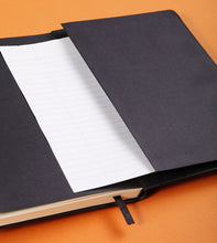 Load image into Gallery viewer, Rhodia Webnotebook A5 Lined Black