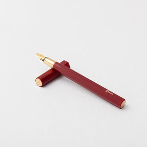 ystudio Red Resin Fountain Pen