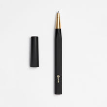 Load image into Gallery viewer, ystudio Black Resin Rollerball Pen