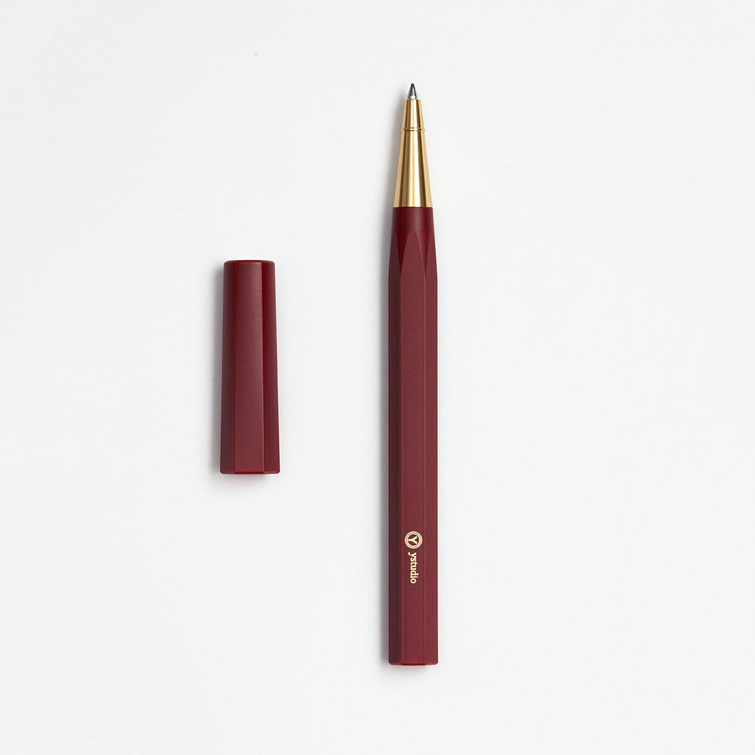 ystudio Red Resin Rollerball Pen