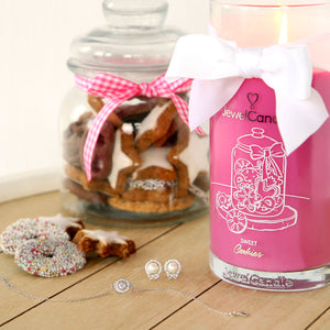 sweet cookies scented candle with jewel jewelcandle gallery picture 2