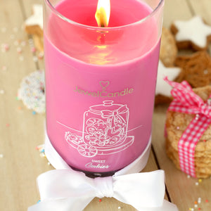 sweet cookies scented candle with jewel jewelcandle gallery picture 1