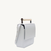 Helve Crossbody - Dove/Marble-Resin Handle