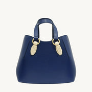 Garnet Tote - Navy/Marble-Resin Accessories
