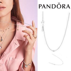 PANDORA Classic Cable Chain Necklace パンドラ チャーム 590412