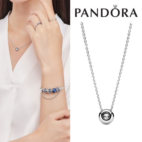 PANDORA Round Sparkle Necklace パンドラ チャーム 396240CZ
