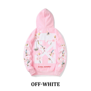 OFF-WHITE VIRGIL ABLOH パーカー ピンク