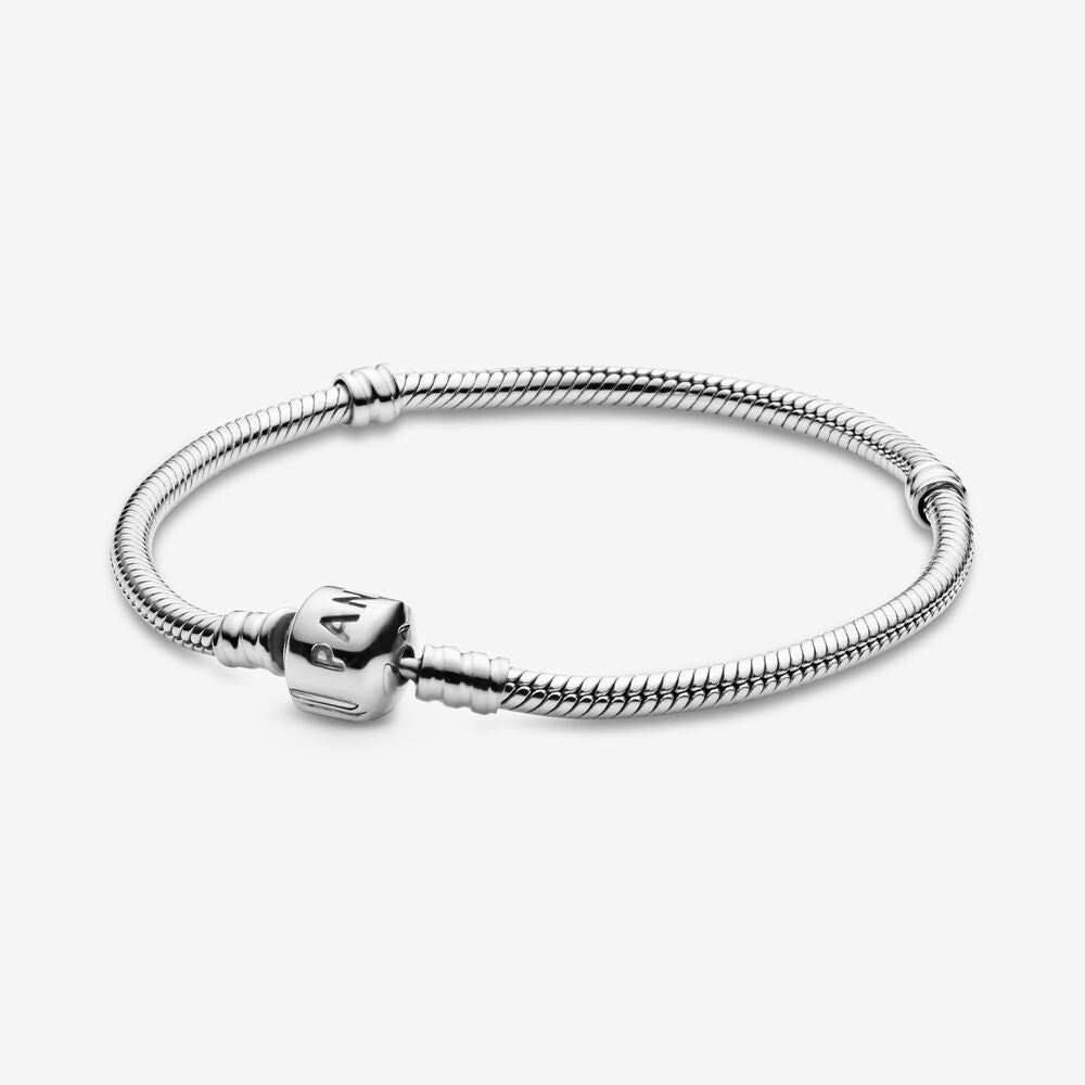 34%OFF PANDORA Moments Snake Chain Bracelet パンドラ ブレスレット 590702HV 春夏