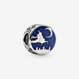 PANDORA Disney Aladdin & Princess Jasmine Magic Carpet Charm パンドラ チャーム