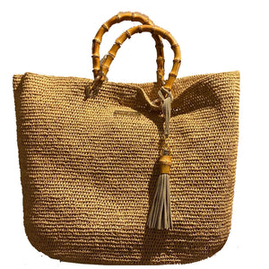 Savanna Bay Bamboo Bag, Heidi Klein