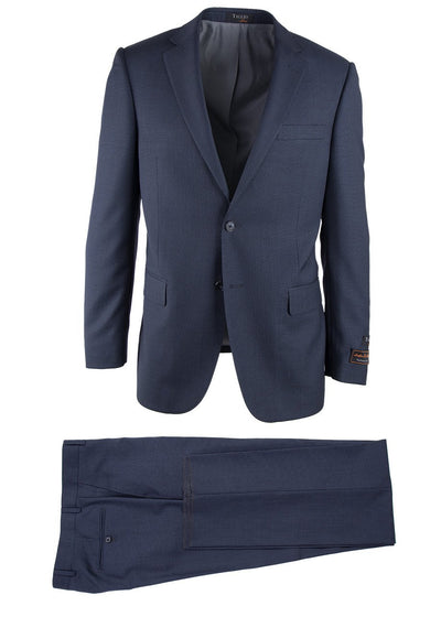 Brite Creations Novello Blue Birdseye, Modern Fit, Pure Wool Suit by Tiglio Luxe IDM70