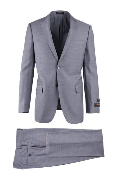 Brite Creations Novello Light Gray, Modern Fit, Pure Wool Suit by Tiglio Luxe E09063/2