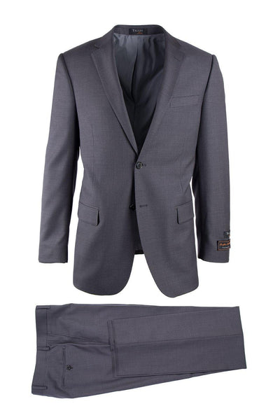 Brite Creations Novello Gray, Modern Fit, Pure Wool Suit by Tiglio Luxe TIG1008