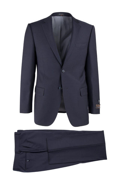 Brite Creations Novello Navy, Modern Fit, Pure Wool Suit by Tiglio Luxe TIG1002