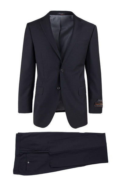 Brite Creations Novello Black, Modern Fit, Pure Wool Suit by Tiglio Luxe TIG1001