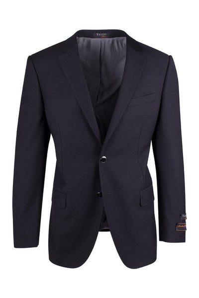 Brite Creations Novello Black Modern Fit, Pure Wool, Blazer by Tiglio Luxe TIG1001