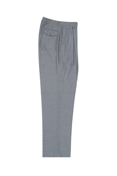 Brite Creations Light Gray, Wide Leg Wool Dress Pant 2586/2576 by Tiglio Luxe 876601/4