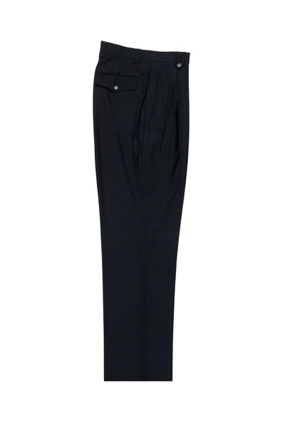 Brite Creations Navy Wide Leg Wool Dress Pant 2586/2576 by Tiglio Luxe TIG1002