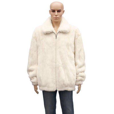 Full Skin Mink Jacket - White