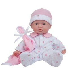 JC Toys, La Baby 11-inch Washable Soft Body Play Doll For Children 12 Months and older, Designed by Berenguer