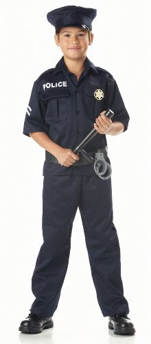 California Costumes Toys Police, Medium