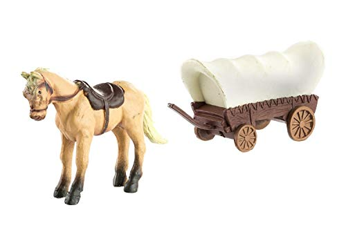 Safari Ltd Wild West TOOB -  11 Hand Painted Toy Figurines