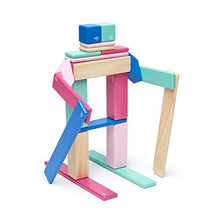 Load image into Gallery viewer, 24 Piece Tegu Magnetic Wooden Block Set, Blossom