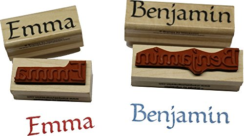 Stamps by Impression Leigh Name Rubber Stamp