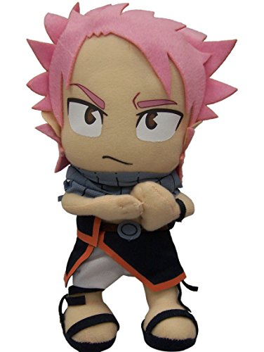 "Great Eastern GE-6969 Animation Official Fairy Tail Anime Natsu Dragneel 8"" Plush"