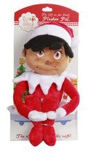 Load image into Gallery viewer, The Elf on the shelf Girl Plushee Pal - Dark