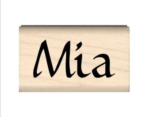 Stamps by Impression Mia Name Rubber Stamp
