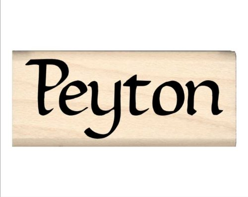Stamps by Impression Peyton Name Rubber Stamp